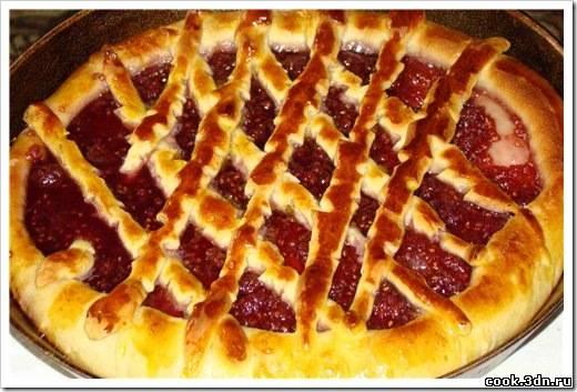 Сладкий открытый пирог рецепт пошагово